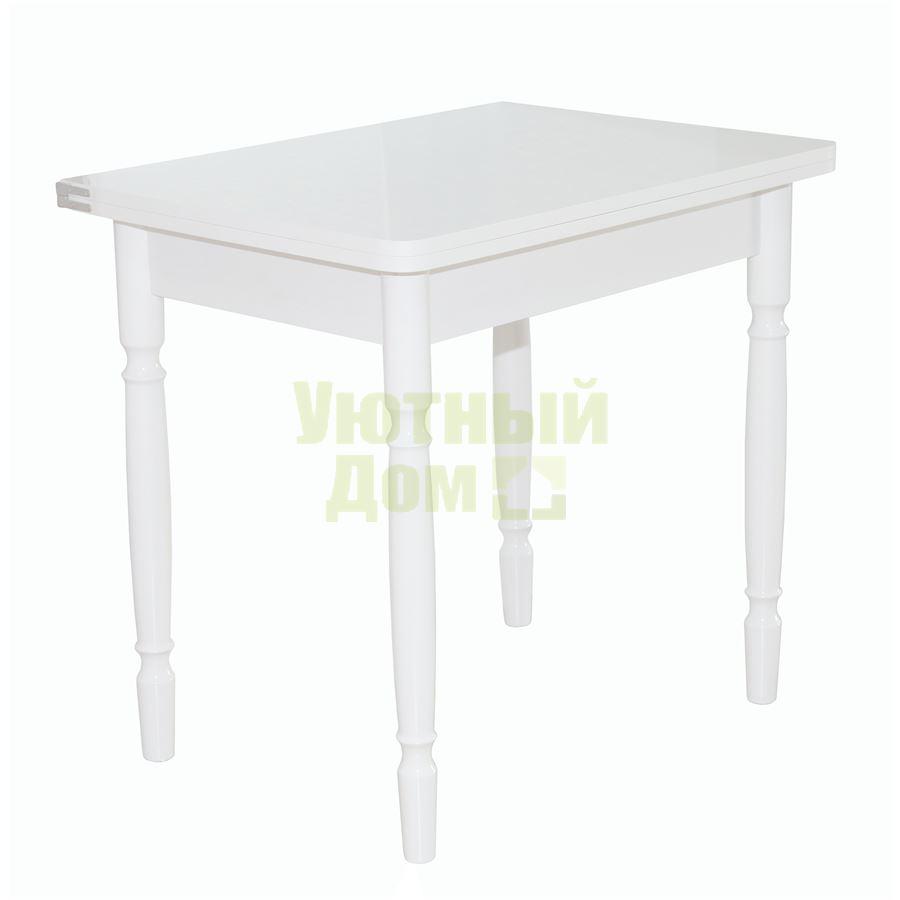 стол обеденный лс 831 белая радика 5934белый